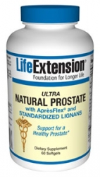 Ultra Natural Prostate with AprèsFlex® and Standardized Lignans